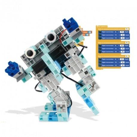 kit robotique avancé pour lycée et collège pour le projet Territoires Numériques Educatifs