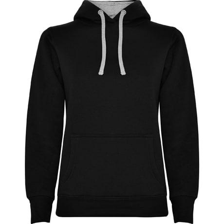 Bluza z wlasnym nadrukiem Roly damska czarna