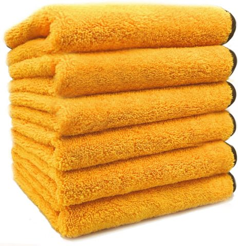 Solid 6-Pack Multipurpose Cleaning Towel
