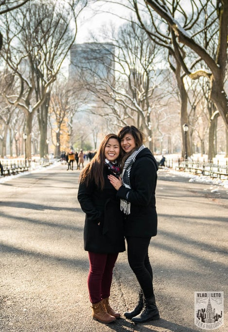 Photo 19 Same Sex proposal by Brooklyn Bridge + Engagement in Central Park | VladLeto