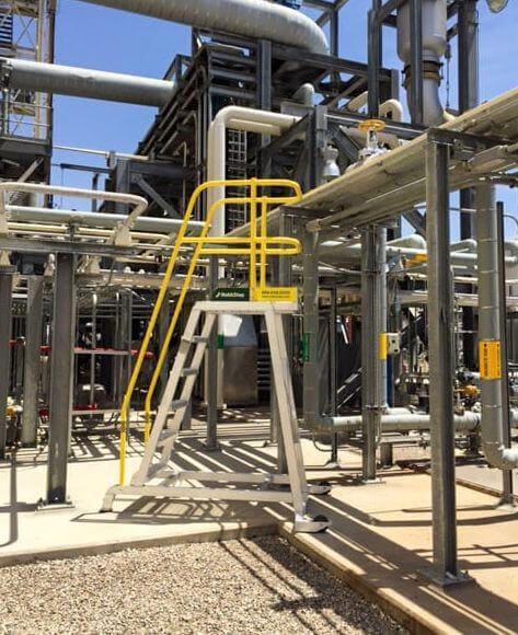 Tilt and Roll Mobile Work Platform for Pipeline Maintenance