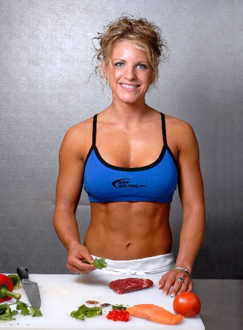 Build muscle with food