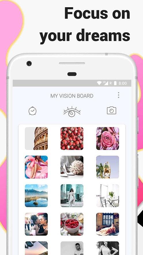 visuapp free digital vision board app
