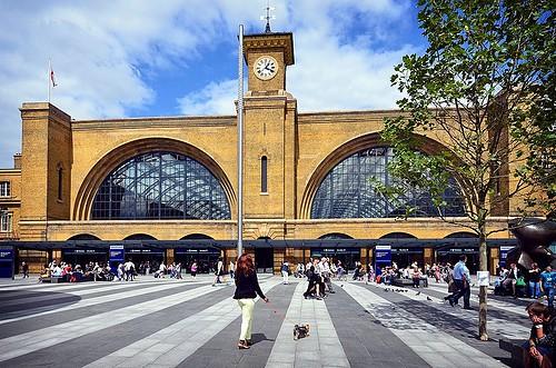 London Kings Cross Station
