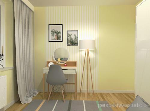 projektowanie_wnętrz_lublin-projekt_sypialni_lublin-żółte-tapety-5