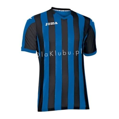 Koszulka piłkarska JOMA Copa niebiesko-czarna