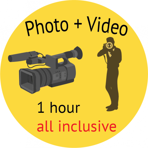 photo + video packege logo