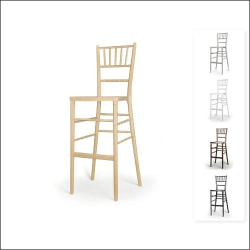 Chivari Bar Height Chair F-S-C-001-NTRL
