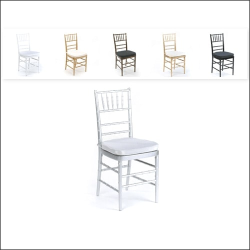 Chivari Chair F-S-C-001-SLVR