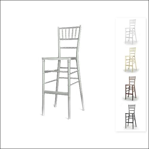 Chivari Bar Height Chair F-S-C-006-SLVR