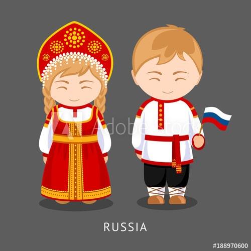Khám phá trang phục truyền thống mang đậm nét văn hóa nước Nga
