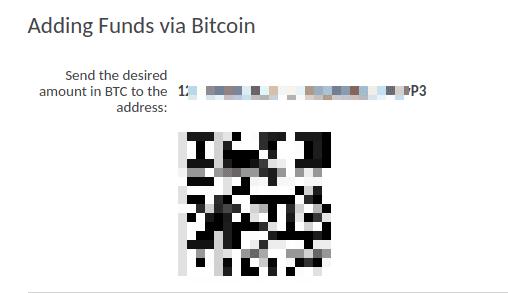 FXOpenにビットコインで入金2