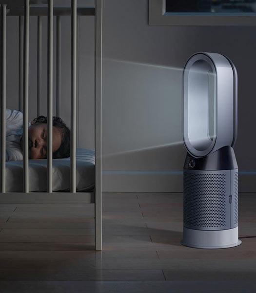 Un ventilateur Dyson silencieux pour votre sommeil