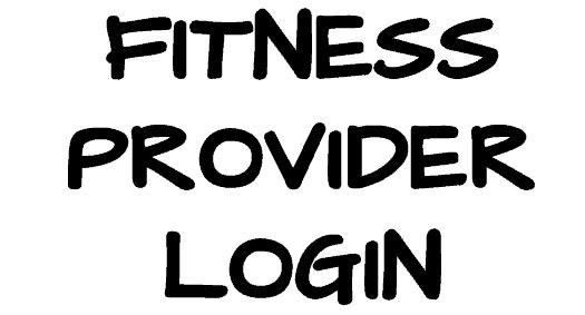 fitness-provider-login