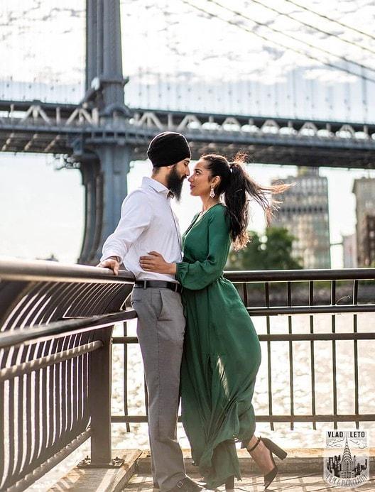 Photo 9 BEST Proposal Reaction! Brooklyn bridge park.   VladLeto