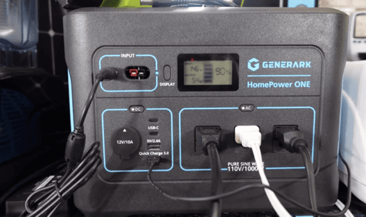Close Up of the HomePower One