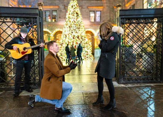 holiday proposal nyc