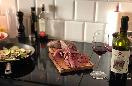 hjortkött och hungry wines elsie