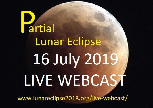 Partial Lunar Eclipse - Live Webcast