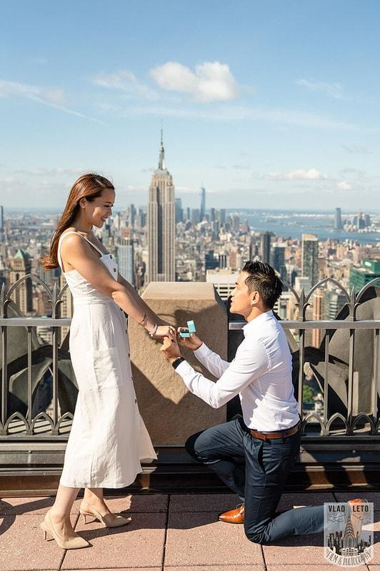 Photo 2 Top Rock Marriage Proposal   VladLeto