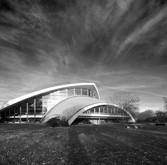 Stadionbad Hannover 60er Jahre Bau by Olaf Mahlstedt