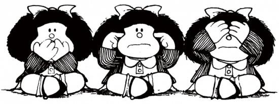 Malfalda - Muda, Surda, Cega