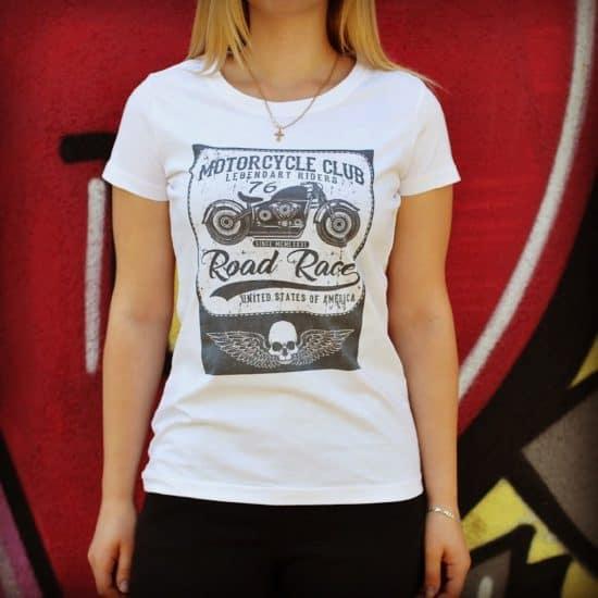 koszulki motocyklowe z nadrukiem road race