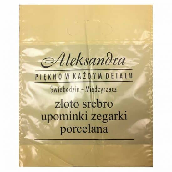 torby foliowe z nadrukiem aleksandra