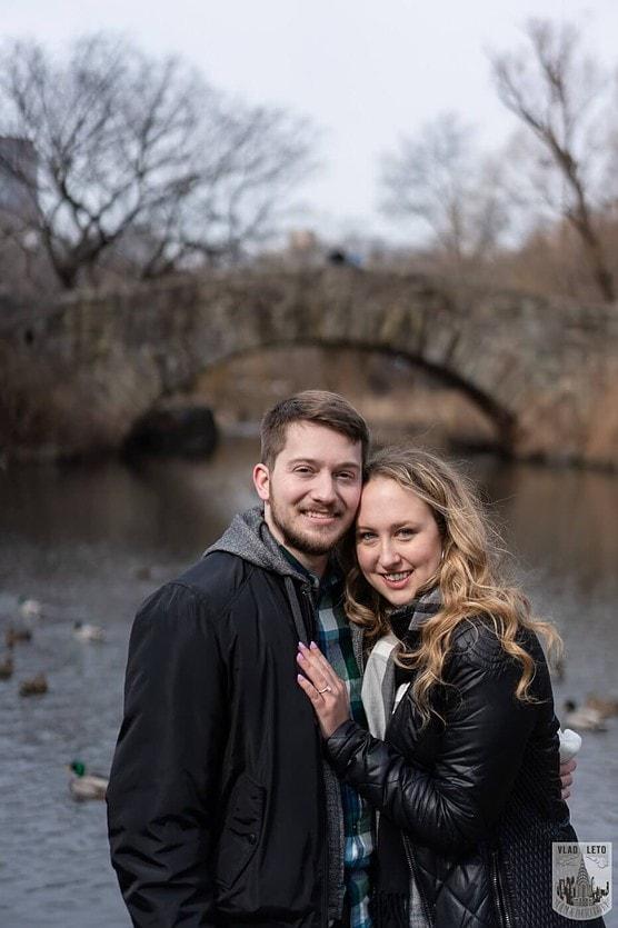 Photo 6 Bow bridge wedding proposal in Central Park   VladLeto