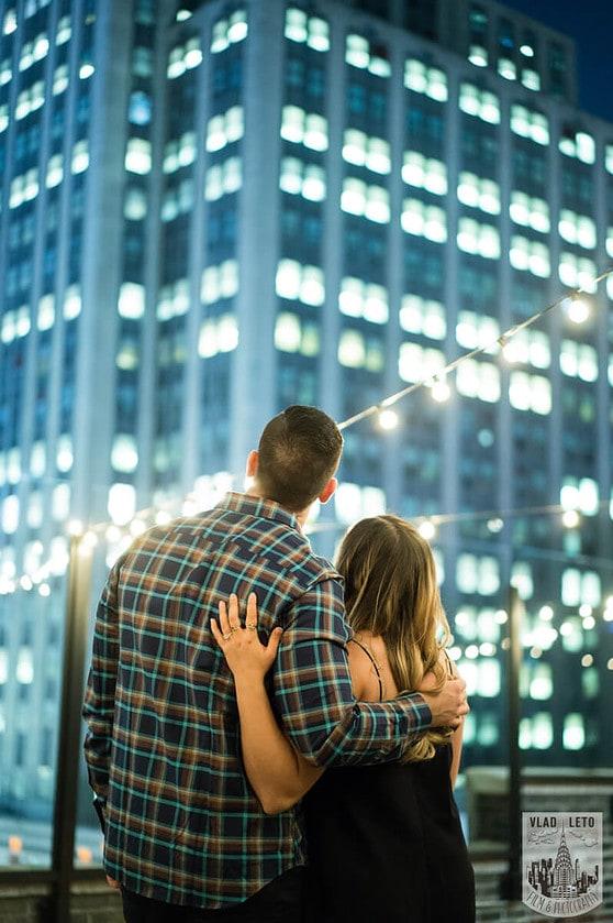 Photo 6 Empire state building view Surprise Marriage Proposal | VladLeto