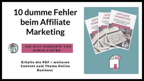 Affiliate Marketing Freebie 1