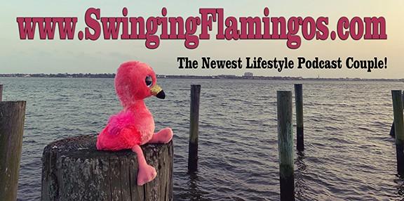 Swinging Flamingos the newest swingers lifestyle podcast couple