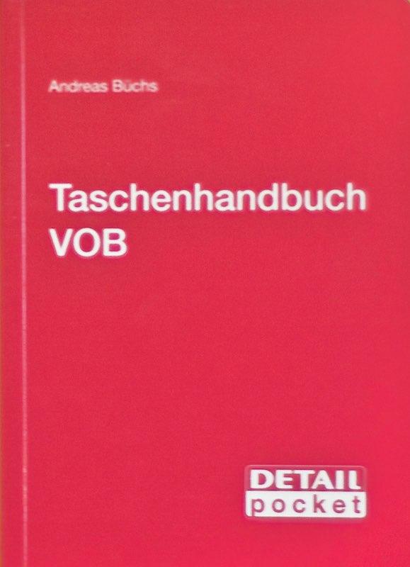 Taschenbuch VOB