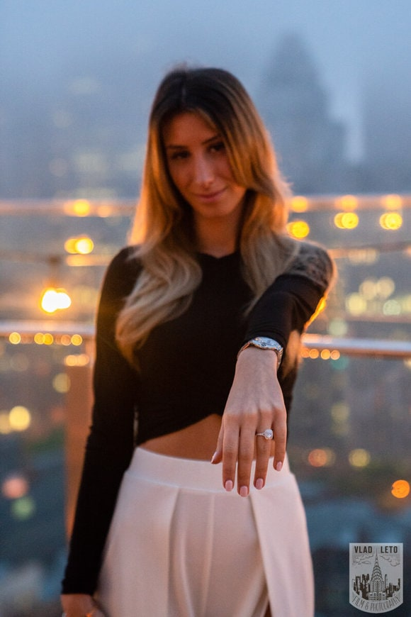 Photo 16 Surprise Proposal on a rooftop in Downtown Manhattan. | VladLeto