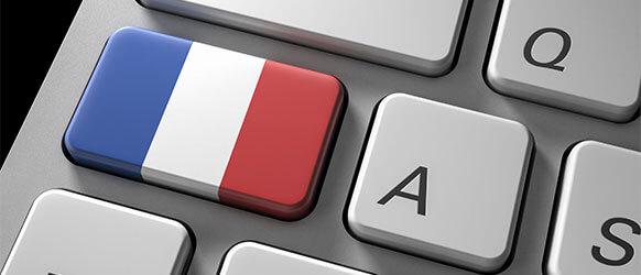 Französische Tastatur