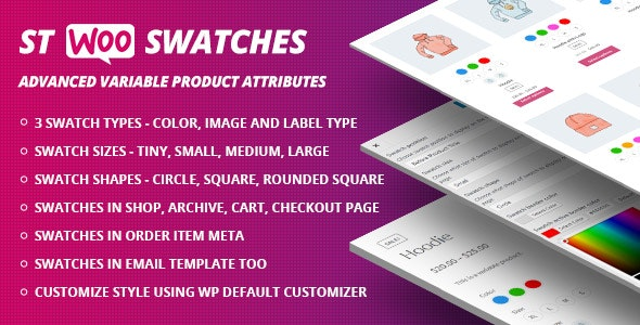 Free template Swatches codecanyon