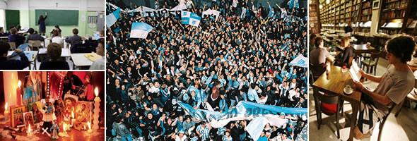 População e costumes da Argentina