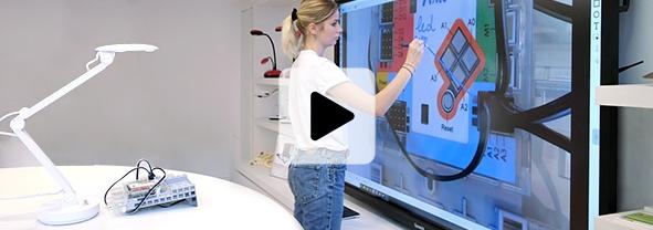 visualiseur de document éducation 4k UHD