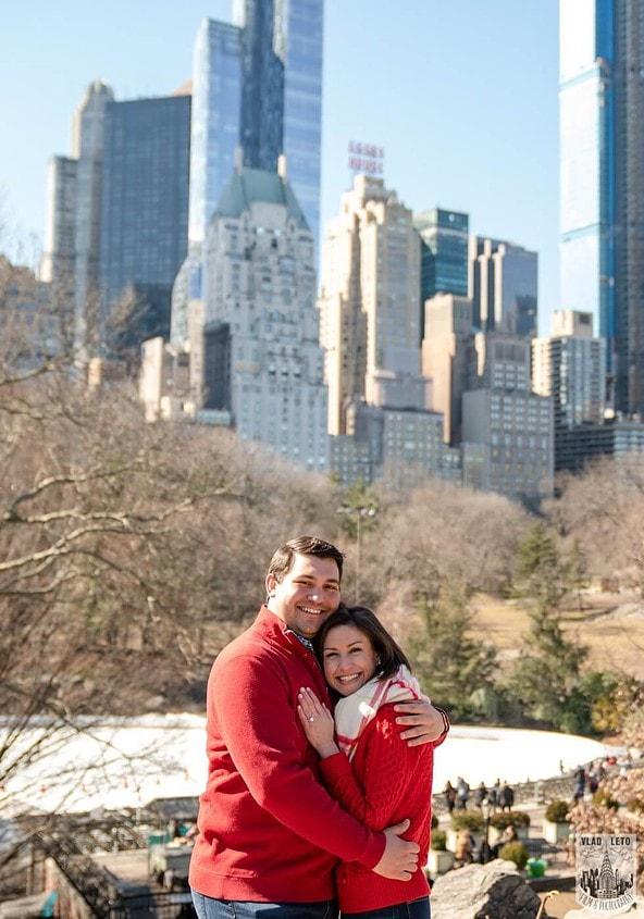 Photo 4 Gapstow bridge Marriage proposal in Central Park   VladLeto