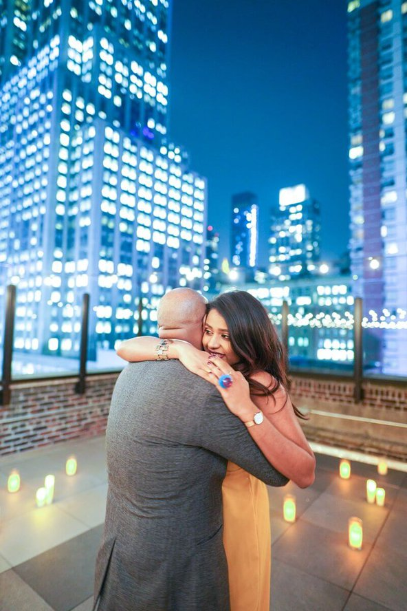 Photo 4 Rooftop proposal in NYC   VladLeto