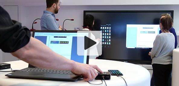 outil collaboratif présentation sans fil