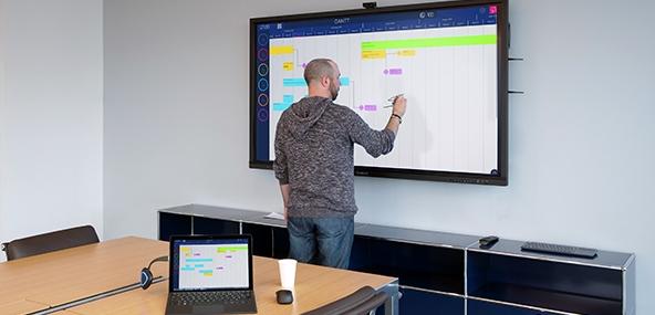 Transmetteur sans fil Speechi pour ecrans interactifs tactiles