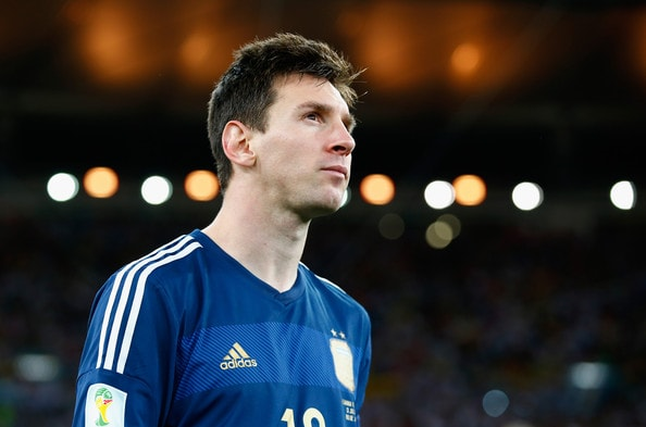 Lionel Messi Biografia Argentina 2014 World Cup