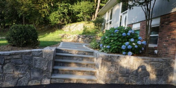 retaining wall - drainage solutions for driveways