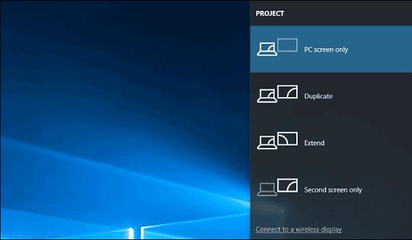 kết nối máy chiếu với laptop