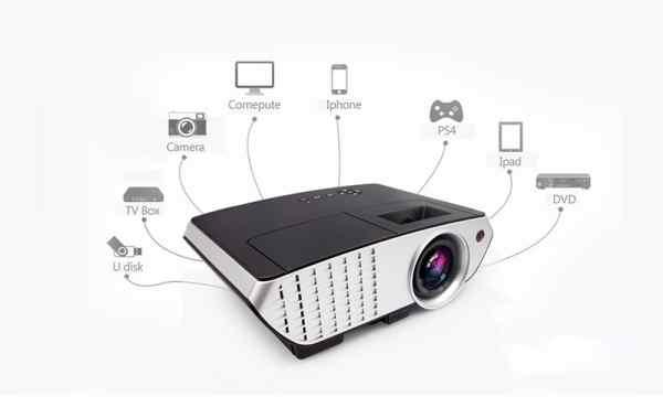 độ tương phản của máy chiếu - Máy chiếu Tyco T2500 4