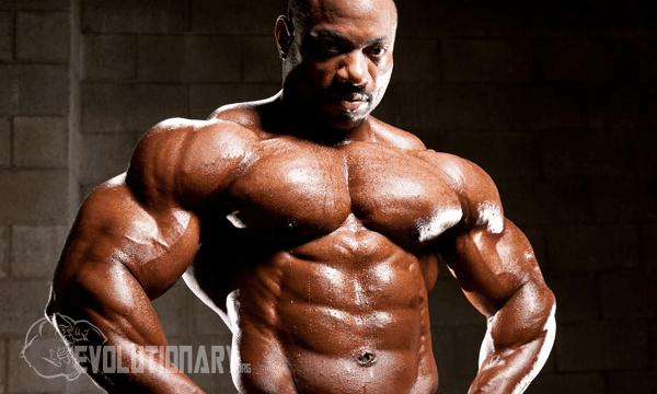 Dexter Jackson chest training
