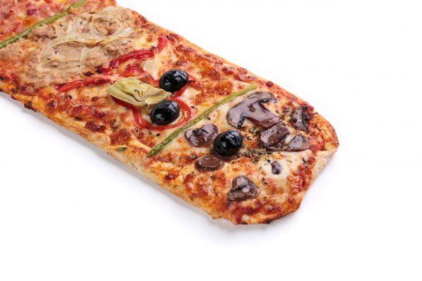 Pizza lunga 4 estaciones | di Paolo