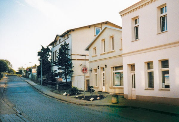 Renovated houses, old Seestraße, 1998, © City Archives and City Library Sassnitz