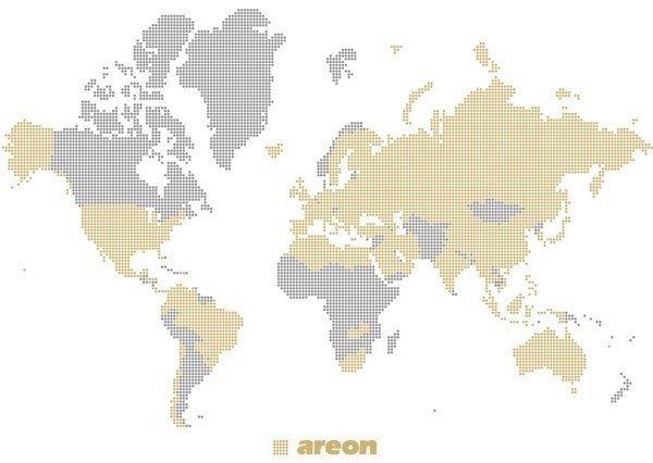 Nước hoa ô tô và phòng Areon có mặt tại 86 quốc gia